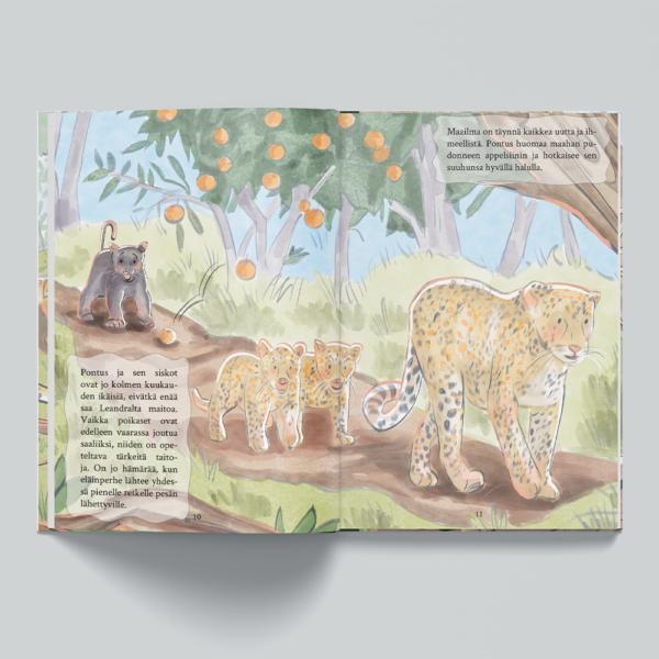 viidakkoseikkailu lastenkirja sisältö